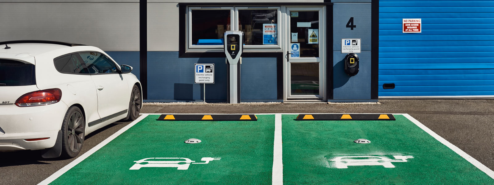 Electric vehicle charging points | Large Multisite